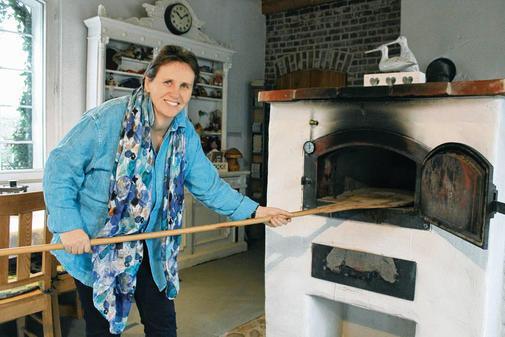 Christine Hamester-Koch in der Ideenschmiede Wangelau